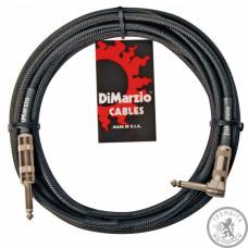 Інструментальний кабель (готовий) Джек-джек(кутовий) DiMarzio EP1710SR