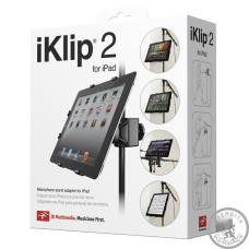 Адаптер-тримач для мікрофонної стійки  iPad IK MULTIMEDIA iKLIP2