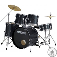 Барабанна установка  MAXTONE MXC110 black Metal lugs