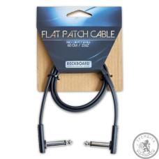 Патч-кабель Джек(кут)-джек(кут) RockBoard RBOCABPC F60 BLK FLAT PATCH CABLE