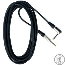 Інструментальний кабель (готовий) Джек-джек(кут) RockCable 30256 D6 6м