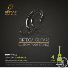 Струни для укулеле Ortega UWNY-4-CC
