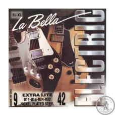 Cтрун для електрогітари La Bella EL-XL 009 - 042
