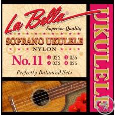 Струни для укулеле  La Bella 11