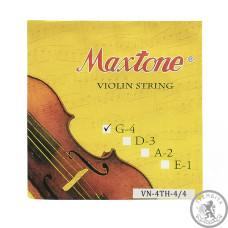 Струна для скрипки 4-ая (СОЛЬ) MAXTONE VN 4RD 4/4