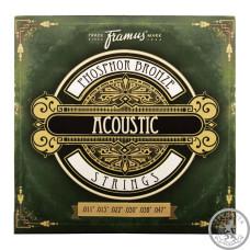 Струни для Акустичної гітари FRAMUS 47200 PHOSPHOR BRONZE LIGHT (11-47)