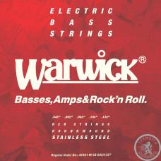 Струни для Бас - гітари WARWICK 42301 RED LABEL M5B (45-135)