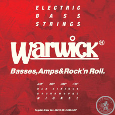 Струни для бас-гітари  Warwick 46210 ML Red Label Nickel steel