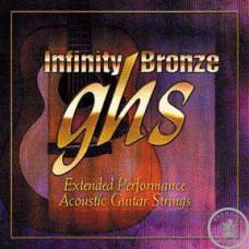 Струни для акустичної гітари  ghs IB40M (13-56 Infinity Bronze)