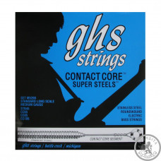 Струни для бас- гітари ghs 5M-CC (45-129 Contact core)