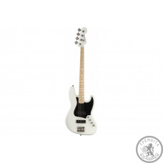 SQUIER by FENDER CONTEMPORARY ACTIVE J-BASS HH MN FLAT WHITE