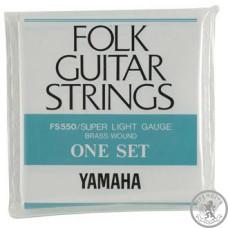 Струни для акустичної гітари  (10-46) YAMAHA FS550 бронза