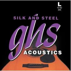 Струни для акустичної гітари  GHS 345