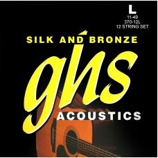 Струни для акустичної гітари  GHS 370