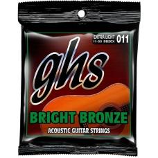 Струни для акустичної гітари  GHS BB20X