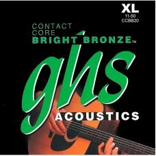Струни для акустичної гітари GHS CCBB20