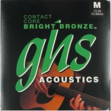 Струни для акустичної гітари GHS CCBB40