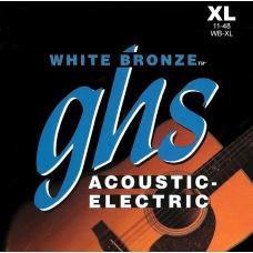 Струни для акустичної гітари  GHS WB-XL