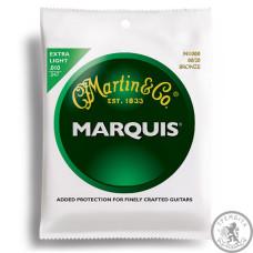 Струни для акустичної гітари  (10-47) MARTIN M1000 Marquis 80/20 Bronze Extra Light 10-47