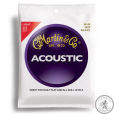 Струни для акустичної гітари  (12-54) MARTIN M140X Traditional 80/20 Bronze Light 12-54