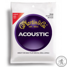 Струни для акустичної гітари  (12-54) MARTIN M540 Traditional 92/8 Phosphor Bronze Light 12-54