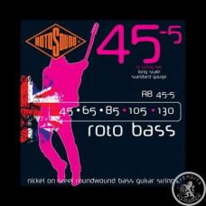 Струни для Бас-гітар ROTOSOUND RB45-5