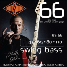 Струни для Бас-гітар ROTOSOUND BS66