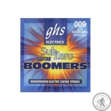 Струни для Електрогітари GHS STRINGS SUB-ZERO BOOMERS CR-GBXL 09-42