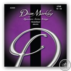 Струны для электрогитары (10-52) DeanMarkley 2504 Nickelsteel Signature Series LTHB