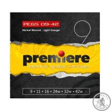 Струни для Електрогітари PREMIERE STRINGS PEGS09-42