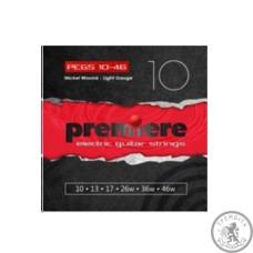 Струни для Електрогітари PREMIERE STRINGS PEGS10-49