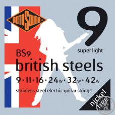 Струни для Електрогітар Rotosound BS9