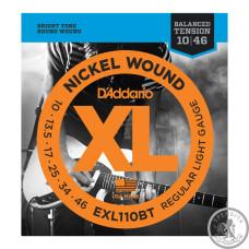 Струни для електрогітари D`Addario EXL110BT Balanced Tension Regular Light
