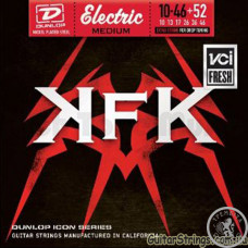 Струни для електрогітари (10-46+52) Dunlop KKN1052 KerryKing Signature