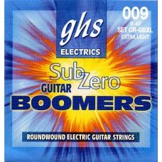 Струни для електрогітари GHS CR-GBXL для електрогітари серії Sub-Zero Boomers