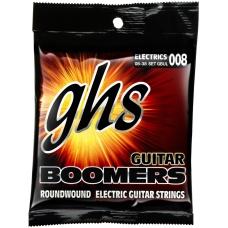 Струни для електрогітари GHS GBUL серії Boomers