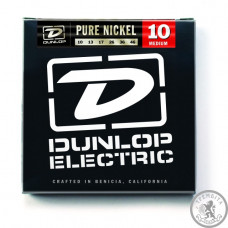 Струни для Електрогітар DUNLOP DEK1046 PURE NICKEL MEDIUM 10-46