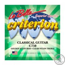 Струни для класичної гітари  La Bella С750
