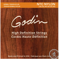 Струни для класичної гітари  GODIN 009350 NTC - Strings Classic Guitar Norm Tension