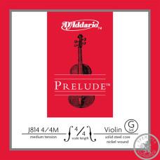 Струна для Скрипки D'ADDARIO (СОЛЬ) 4/4 Medium Tension J814