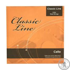 Струни для віолончелі GEWApure Classic Line 4/4 F641019