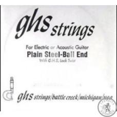 Струна  для електрогітари  GHS STRINGS 009 SINGLE PLAIN BALLEND