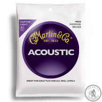 Струна для акустической гитары (11-52) MARTIN M535 Traditional 92/8 Phosphor Bronze Custom Light 11-52
