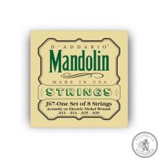 Струни для мандоліни Mandolin Nickel Medium, 11-39