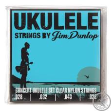 Струни для укулеле DUNLOP DUY302 Ukulele Concert