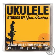 Струни для укулеле DUNLOP DUY301 Ukulele Soprano Pro