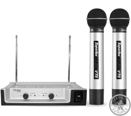 Радіосистема VHF SUPERLUX VT96DD