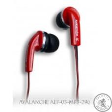 Навушники AVALANCHE AEF-03-MP3-296 (Червоні)