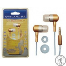 Навушники Avalanche MP3-110 (Жовті)