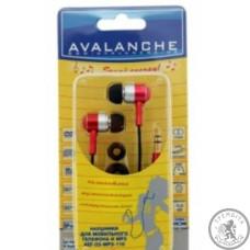 Навушники Avalanche MP3-110 (Червоні)
